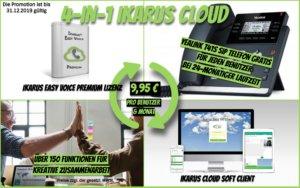 4-in-1 IKARUS CLOUD Telefonie
