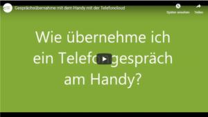 Youtube Tutorial GfK System GmbH Wie übernehme ich ein Telefongespräch am Handy